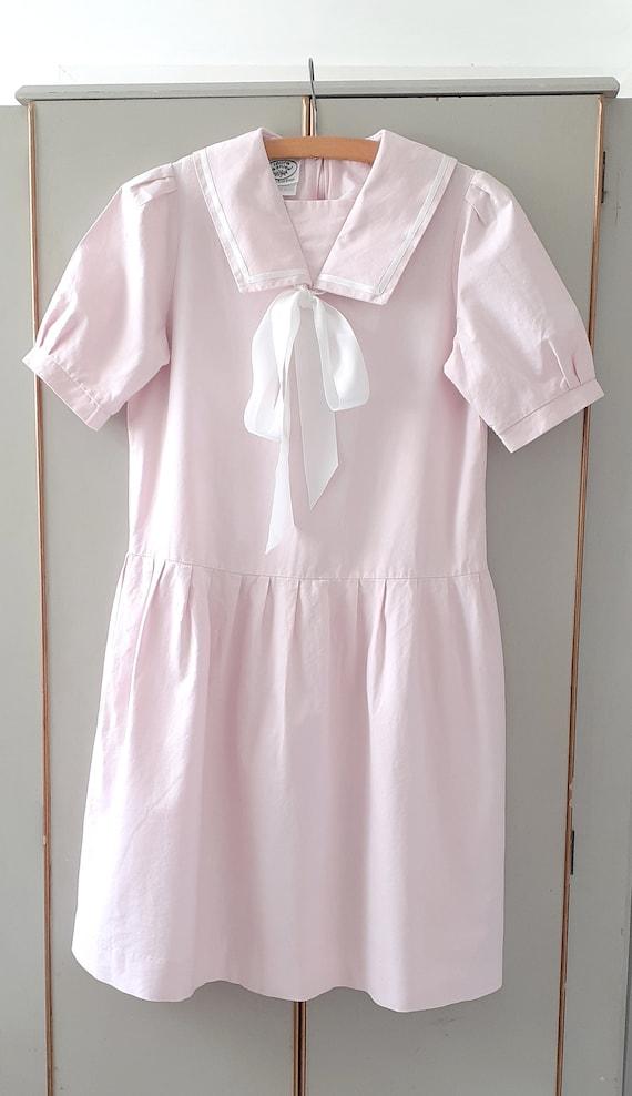 Laura Ashley Pink Sailor Dress