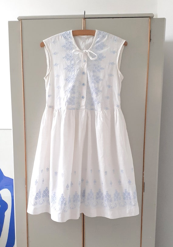 Broderie Anglaise Babydoll Dress