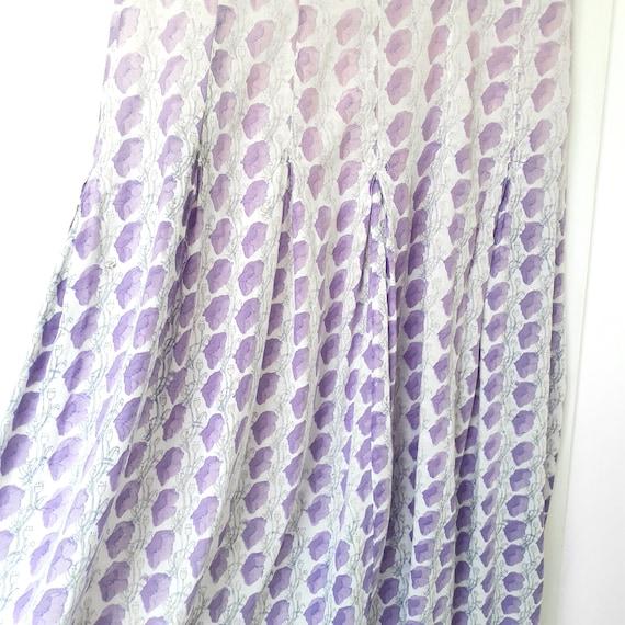 Anokhi Lilac Indian Block Print Dress - image 6