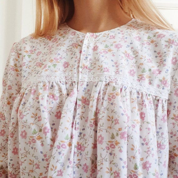 Pink Floral Nightdress
