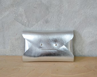 Mini leather clutches