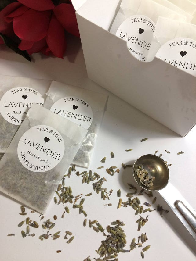 Lavender Wedding Favors In Display Box Eco Friendly Ready To Etsy