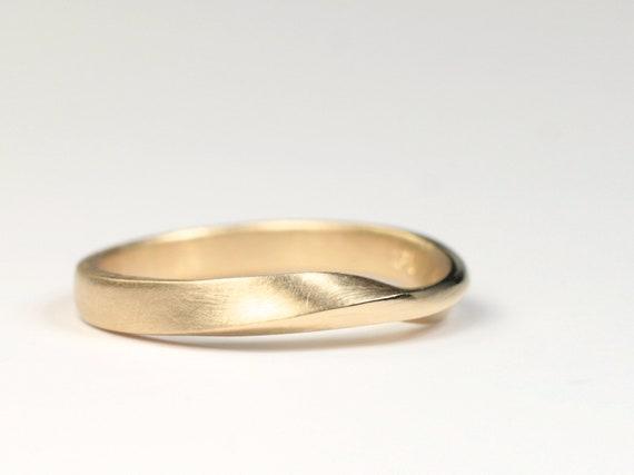 Ring Mobiusband Gold 750 Trauring Anke Fischer Schmuckdesign Etsy
