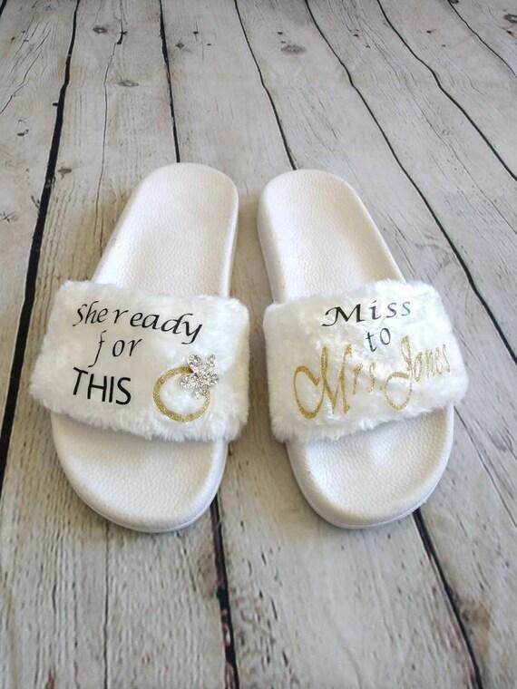 Wedding/ Wedding Shoes Flats/ White
