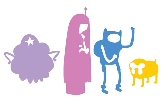 Adventure Time Jake And Finn Princess Bubblegum Lumpy