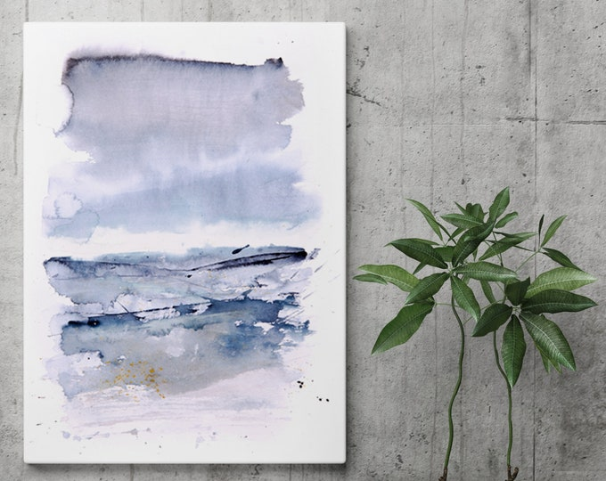 Abstract Landscape Canvas Print - Hand signed by Syman Kaye