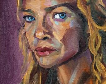 Andrea | Archival Print Portrait of Laurie Holden from Walking Dead by Jess Kristen