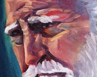Hershel | Archival Print Portrait of Scott Wilson from Walking Dead by Jess Kristen