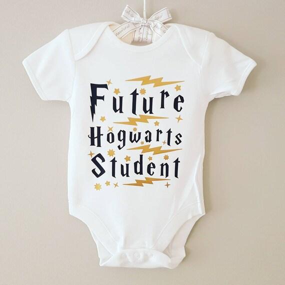 e5df5f531 Harry Potter baby vest bodysuit 'Future Hogwarts   Etsy