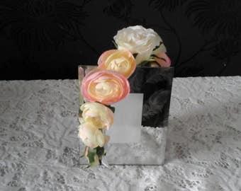 pink rose headband bridesmaids headband pink roses flowergirl headband