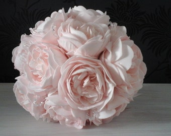 pink peony wedding  bouquet pink bouquet bridesmaid bouquet wedding bouquet peony bouquet wedding flowers pink wedding flowers diamante