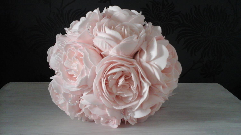 pivoine rose mariage bouquet de roses bouquet demoiselle | etsy