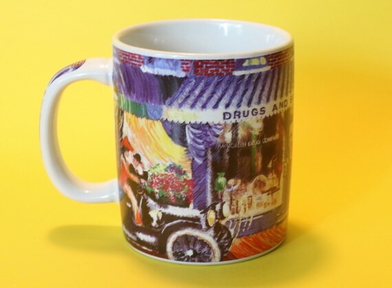 walgreens commemorative cup mug vintage 1997 the first etsy