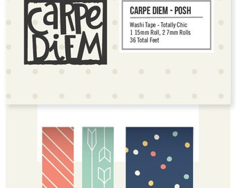 """Simple Stories """"Posh"""" Washi Tape - Totally Chic"""