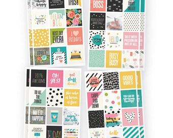 "Simple Stories ""New Carpe Diem Insta Quote"" Stickers"