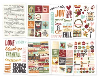 "Simple Stories ""Vintage Blessings"" Stickers"