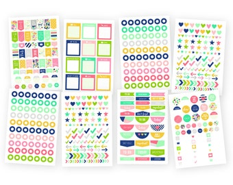 "Simple Stories ""Posh"" Planner Basic Stickers"