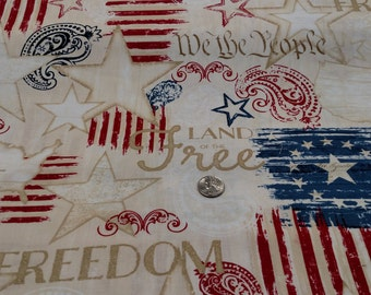 Colors of Freedom from Wilmington Prints by the yard