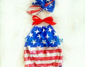 aa6cd74f568 Flag outfit baby