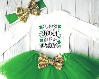 NEW Baby Carter/'s Size 9 Months First St Patrick/'s Day One Piece Paddy Irish