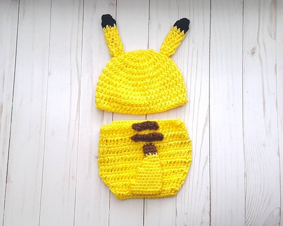Costume Pikachu Bambino.Pikachu Pokemon Outfit Costume Pokemon Nintendo Video Gioco Etsy