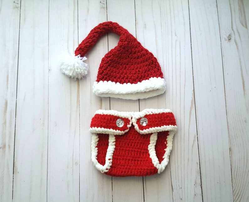 612e662a9 Baby Santa Outfit, Baby First Christmas Outfit, Newborn Photo Prop, Baby  Girl Boy, My 1st Christmas, Baby Santa Suit, Newborn Photo Outfit
