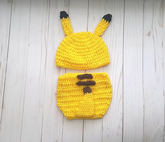 a106dee6d8fb Pikachu Pokemon Baby Outfit Costume Video Game Cosplay Baby