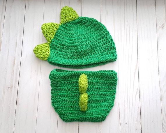 c4f120004097 Crochet Baby Dinosaur Costume Infant Baby Dinosaur Outfit