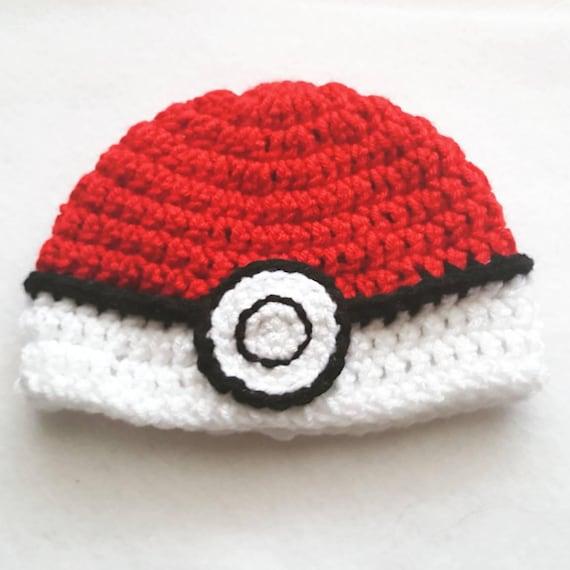 Newborn Baby Pokemon Hat Newborn Pokeball Hat Pokeball  9864dbba63d9