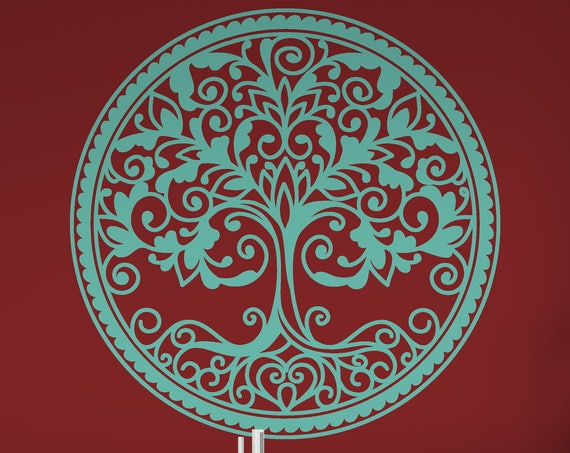 Tree Of Life, Wall Decor, Room Decor Vinyl Wall art Decal ABTL3