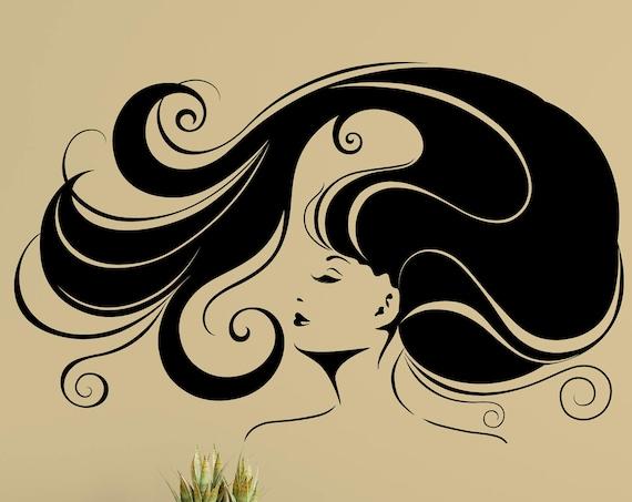 Hair Salon Decal - Abak Design