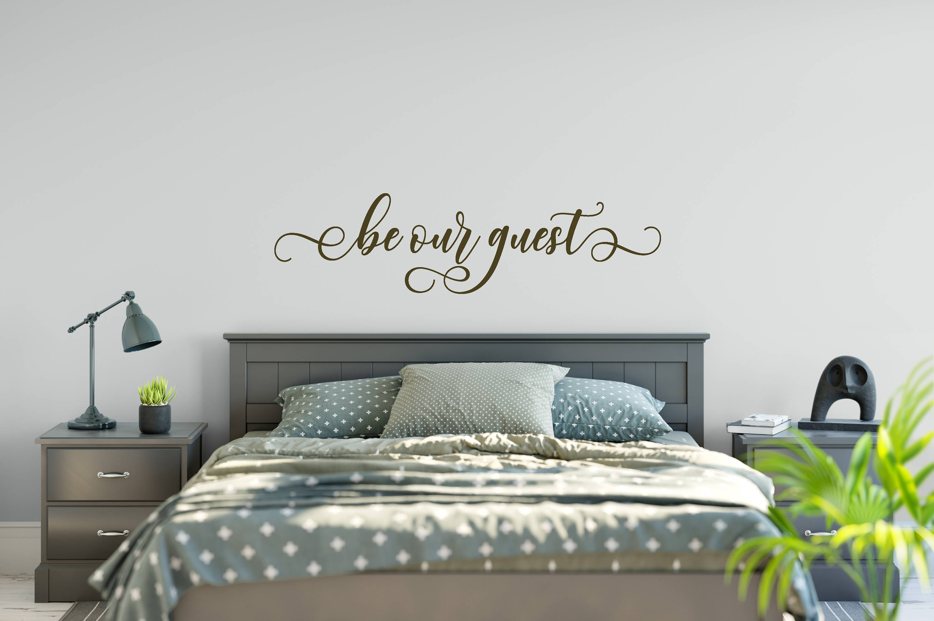 Be Our Guest Decal Wall Words Vinyl Lettering Bedroom Decor quote ...