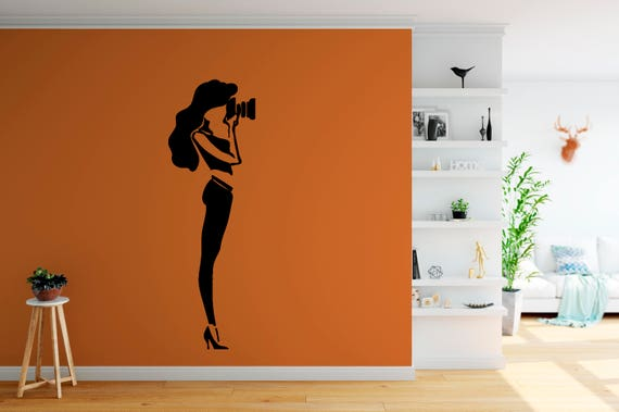 Photographer Decal Wall Art Vinyl Sticker Mural Decor-ABFP2