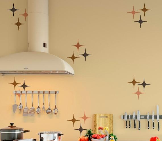 Modern Stars Vinyl Wall Decals, Confetti Stars - Nursery Decor ABST5- Sparkle Star Decals