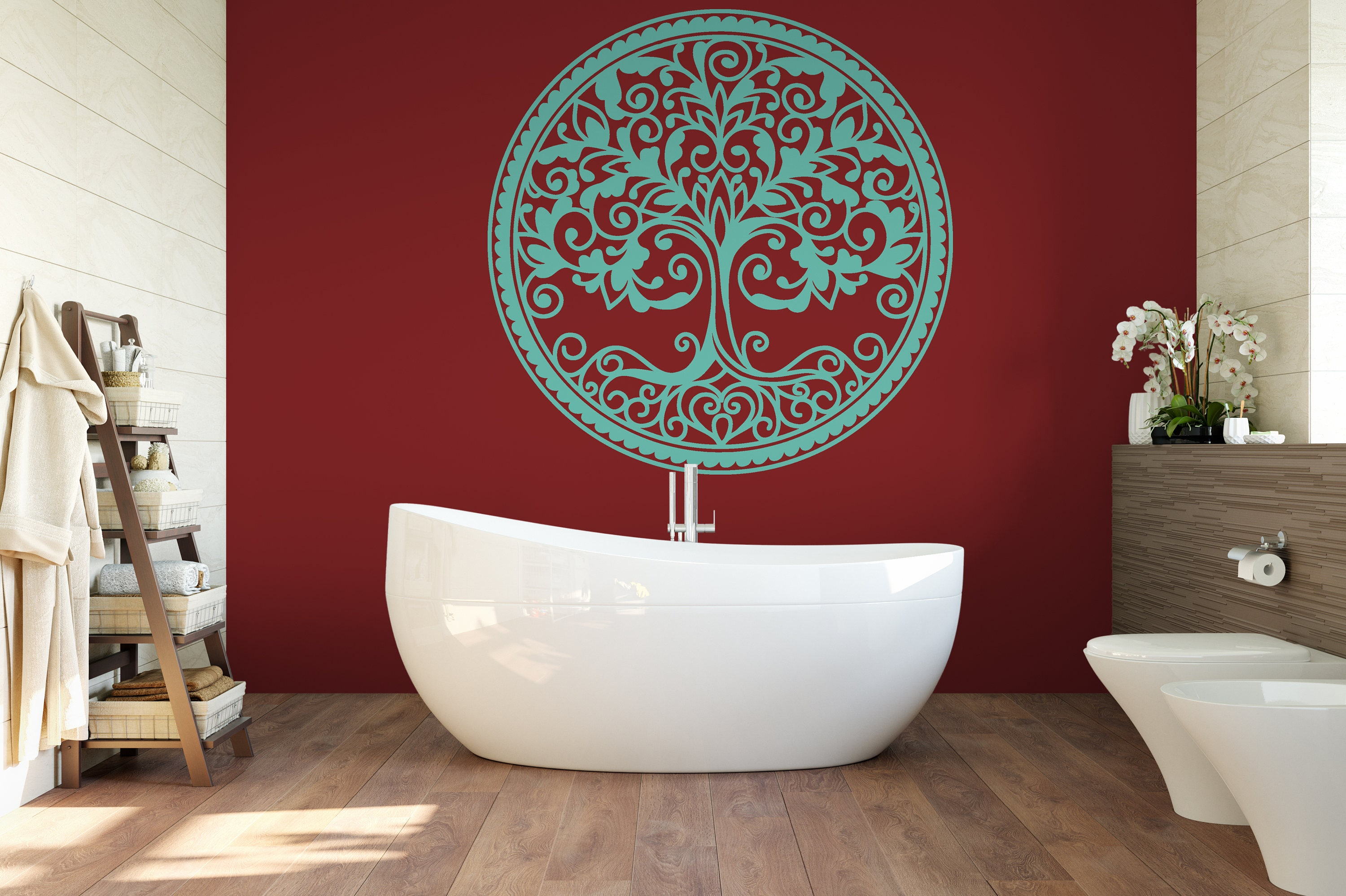 Tree Of Life Wall Decor Room Decor Vinyl Wall Art Decal