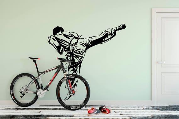 Tae kwon do Kickback Karate, Kung fu Vinyl Wall Art Decal
