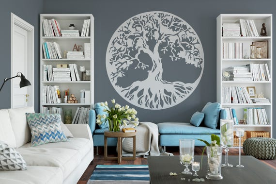 Tree Of Life Wall Decor Room Decor Vinyl Wall Mural Decal