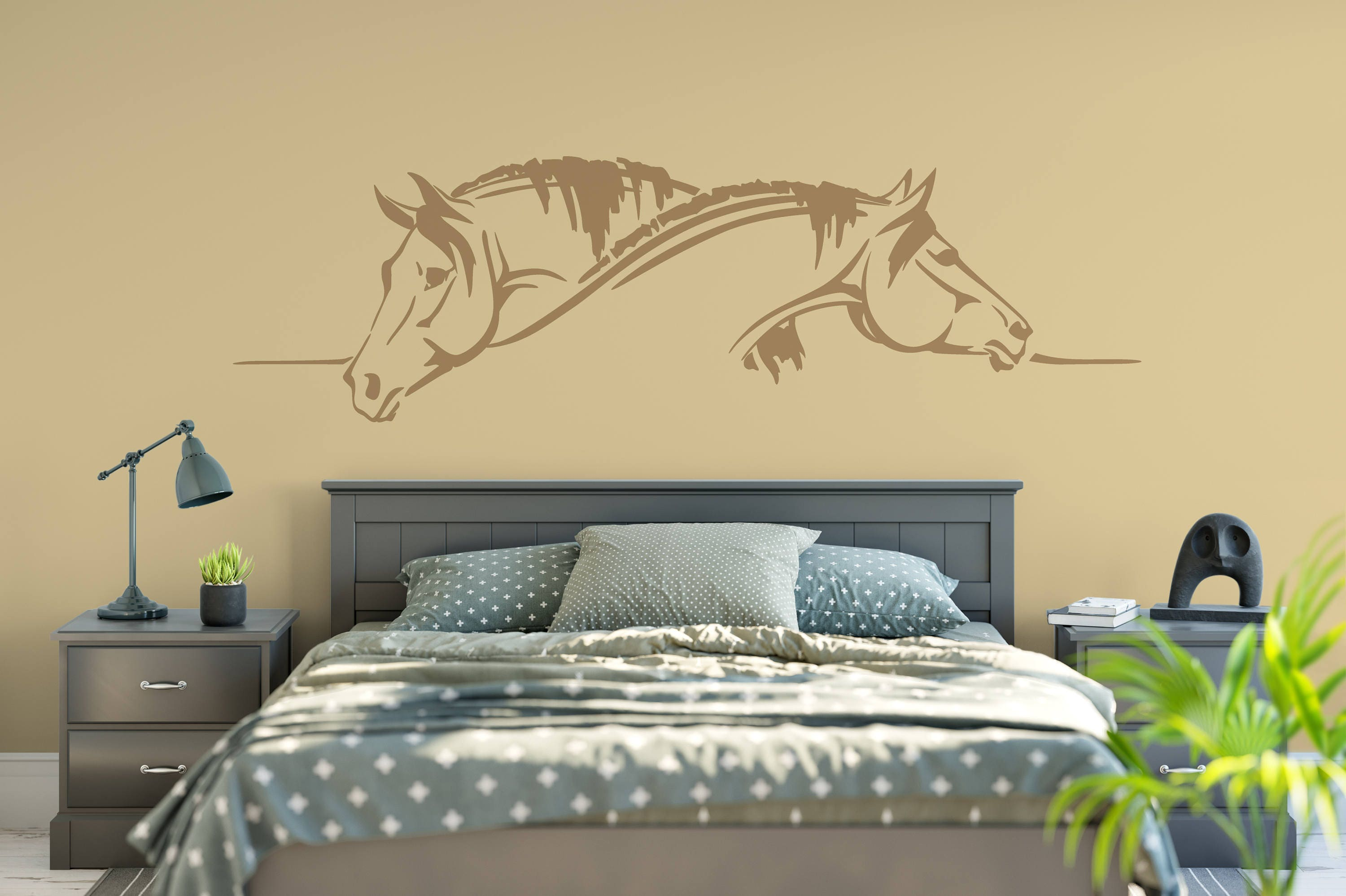 Horse, Horses Vinyl Wall Art Decal ABHR1