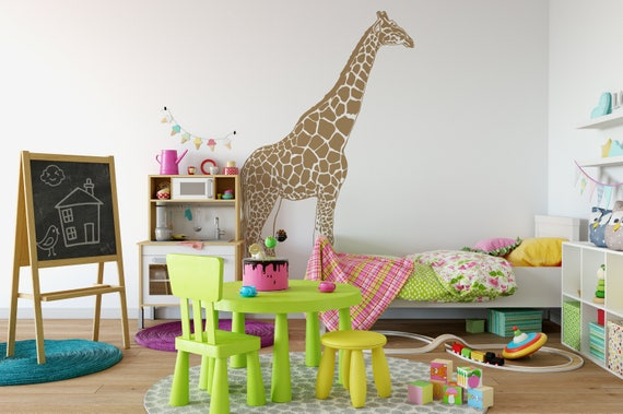 Giraffe Vinyl Wall Art Decal