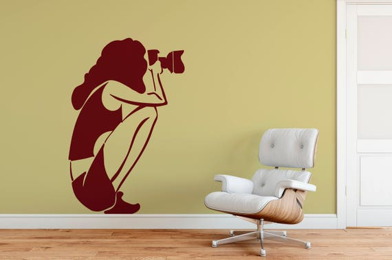 Photographer Decal Wall Art Vinyl Sticker Mural Decor-ABFP3