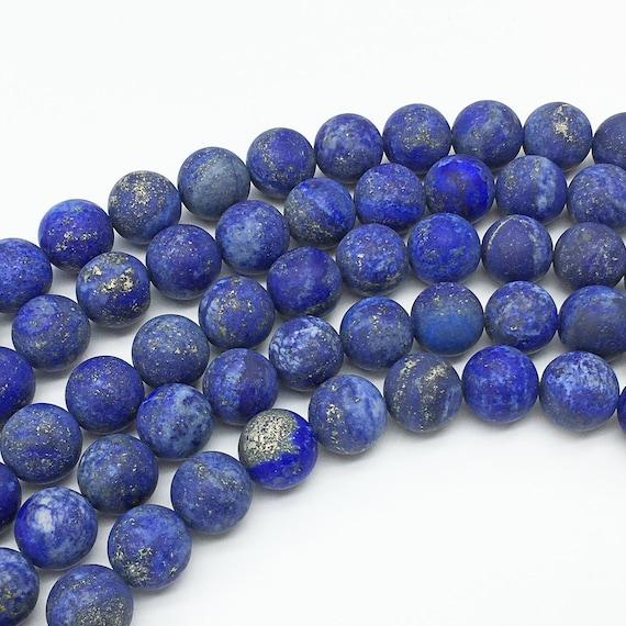 14MM natürliche Lapislazuli Münzen Perlen 15 Zoll