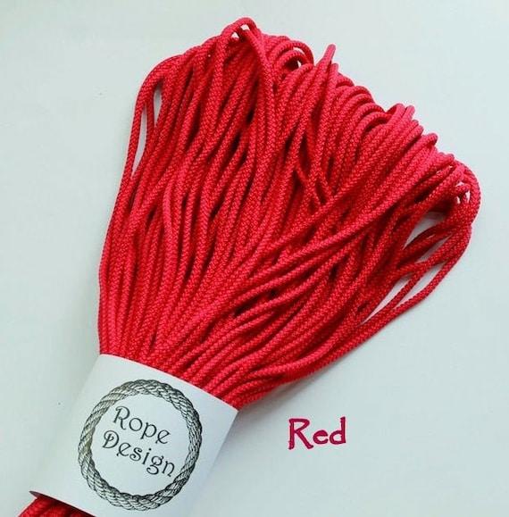 chunky cotton rope 5mm BURGUNDY 100m cotton cord BY YOU chunky cord makrame rope chunky rope thick cotton cord chunky knit cord