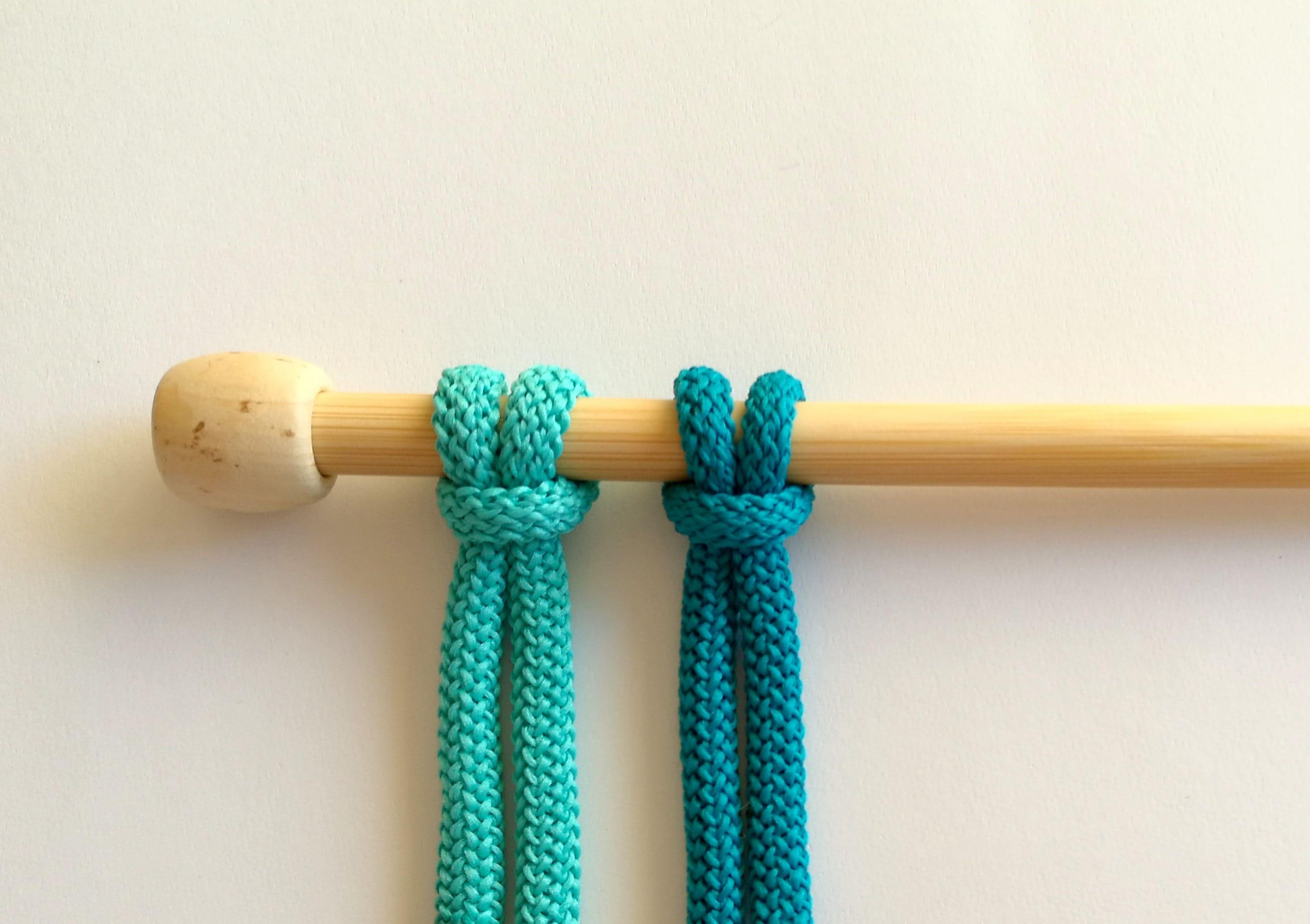 cordon de 6 mm de corde en macram chunky couleur corde etsy. Black Bedroom Furniture Sets. Home Design Ideas