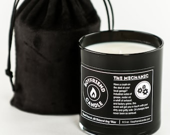 The Mechanic - Boyfriend Candle
