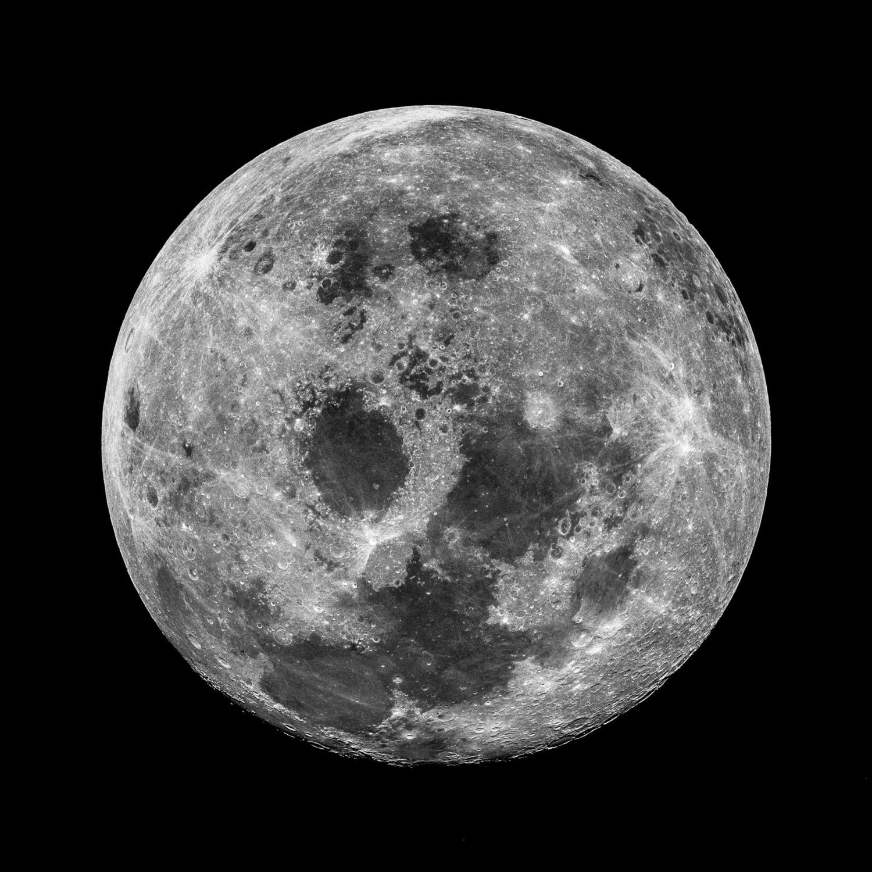 The Moon Lunar Apollo NASA Space Hubble Telescope HD | Etsy