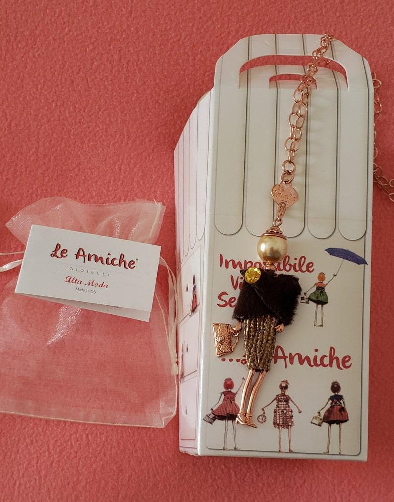 LE AMICHE Fashion Girl Pendant