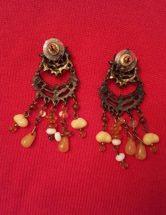 REDUCED!!!  JOAN RIVERS Fringe Necklace & Earrings - image 7