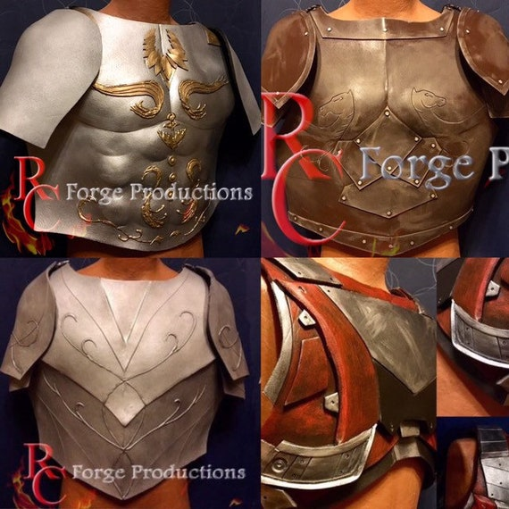 Cosplay Fantasy & Sci-Fi Armor, eva foam breast plates