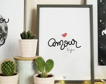 A4 print: Love always