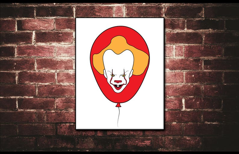 Pennywise the Clown It Movie Stephen King Horror Movies image 0
